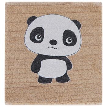 Panda Rubber Stamp