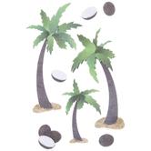Palm Tree 3D Stickers