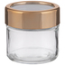 Copper Window Lid Glass Mason Jar - 3 Ounce