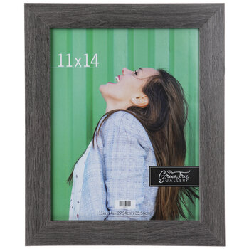 Gray Wood Wall Frame