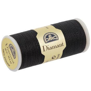 310 Black Metallic Embroidery Thread