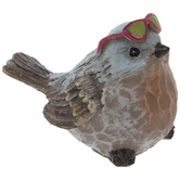 Red Sunglasses Bird
