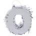 Metallic Number Mini Pinata - 0