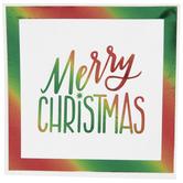 Merry Christmas Foil Napkins - Small