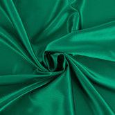 Dark Green Poly Satin Fabric