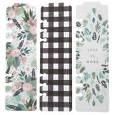 Floral Tabbed Planner Bookmarks