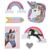 Unicorns & Rainbows Puffy Stickers