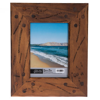 Distressed & Nailed Wood Wall Frame