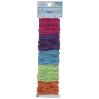 Tropical Cotton Braiding Cord