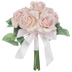 Blush Carolina True Touch Rose Bouquet