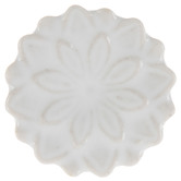 White Layered Flower Knob
