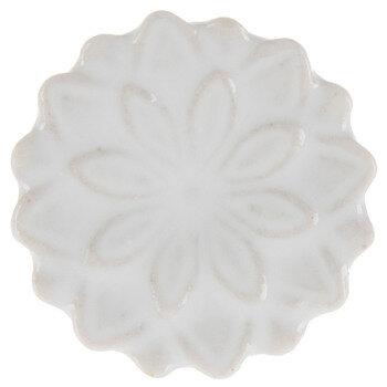 White Layered Flower Knob