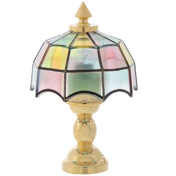 Miniature Tiffany Table Lamp