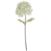 Cream Watercolor Hydrangea Stem