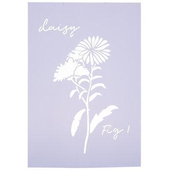 Daisy Stencil