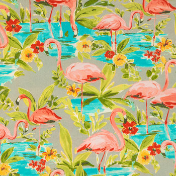 Flamingo Outdoor Fabric