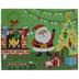 Santa Sticker Scene Craft Kit