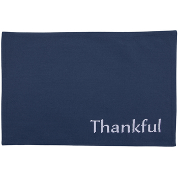 Thankful Embroidered Placemats
