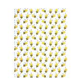 "Playful Bees Scrapbook Paper - 8 1/2"" x 11"""