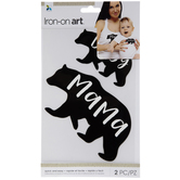Mama & Baby Bear Iron-On Appliques