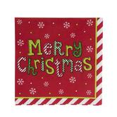 Merry Christmas Napkins - Small