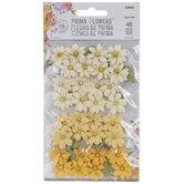 Yellow Daisy Flower Embellishments