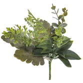 Frosted Mixed Greenery Pick