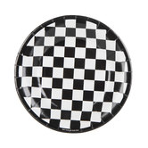 Checkered Flag Paper Plates