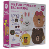 Fluffy Friends Bag Charms Kit