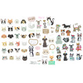 Cat & Dog Stickers