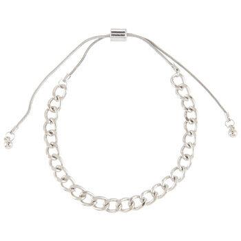 Curb Chain Slider Bracelet