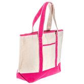 Pink Boat Tote Bag