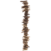 Coconut Shell Bead Chip Strand