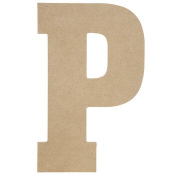 "Wood Letter P - 13"""