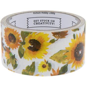 Sunflower Art Project Tape
