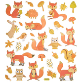 Fox Foil Stickers