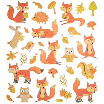 Fox Foil Stickers