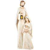 Carved Holy Family