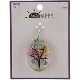 Floating Tree & Butterflies Pendant