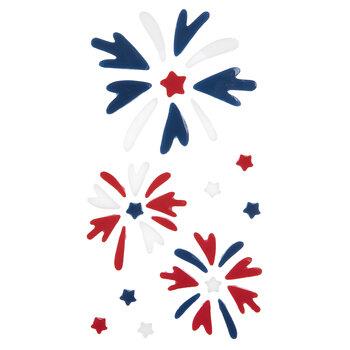 Fireworks Gel Window Clings