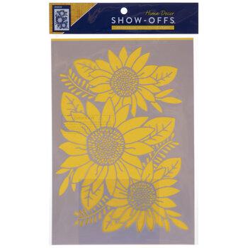Sunflowers Stencil