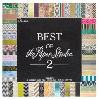 "Best Of The Paper Studio Paper Pack - 12"" x 12"""
