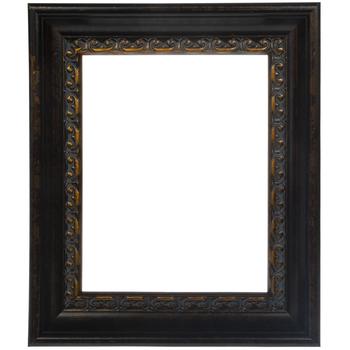 Dark Ornate Imperial Wood Open Frame