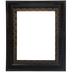 Dark Ornate Imperial Wood Open Frame - 11
