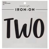 Two Iron-On Applique