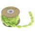 Light Green Pom Pom Ribbon - 5/8