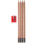 General's Cedar Pointe Pencils - 4 Piece Set