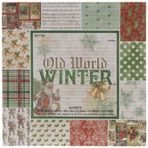 """Old World Winter Paper Pack - 6"""" x 6"""""""