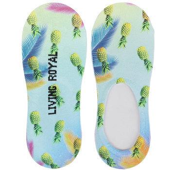 Living Royal Pineapples Liner Socks