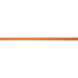 Orange & White Striped Ribbon - 5/8
